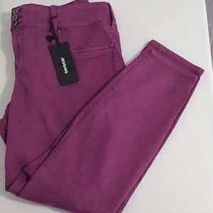 NWT Torrid Jegging Jeans Purple 20R